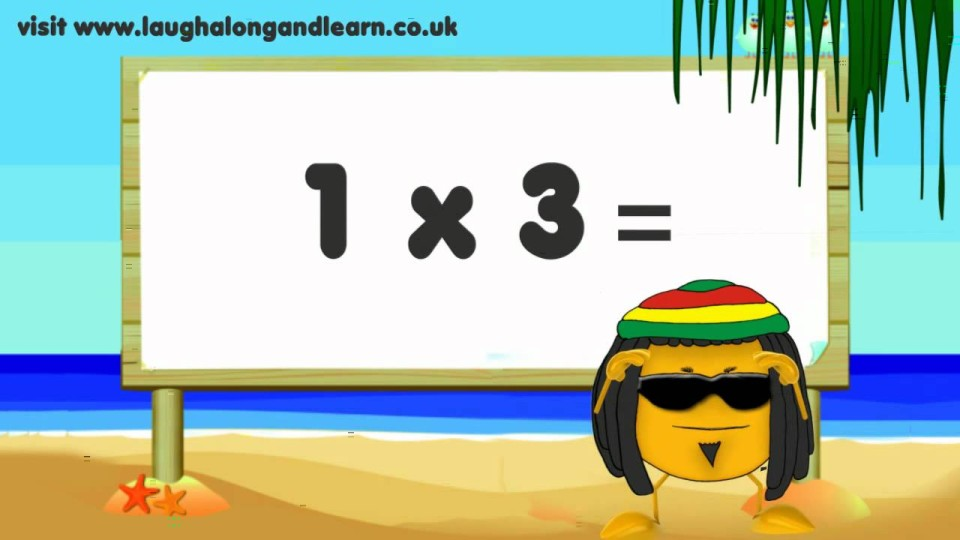 3 Times Tables – Learn The Fun Way!