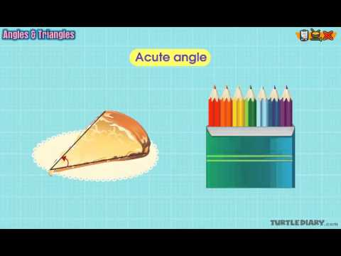 Angles – Acute, Obtuse, Right, Straight | Math Lesson for Grade 2
