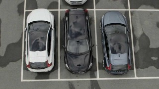 Automatic parking system by Volvo