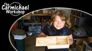 Building Grandpa's Pencil Box Kit – A Kids Woodworking Project