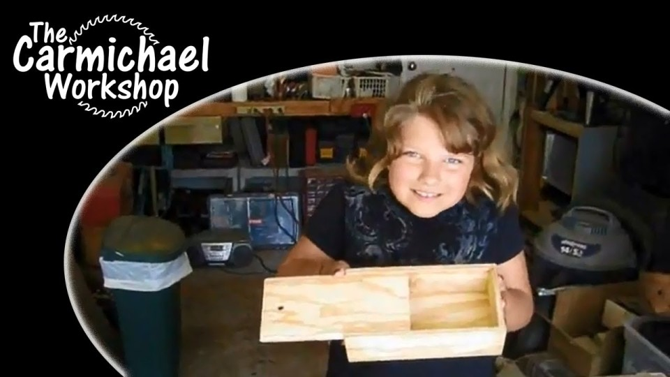Building Grandpa's Pencil Box Kit – A Kids Woodworking Project