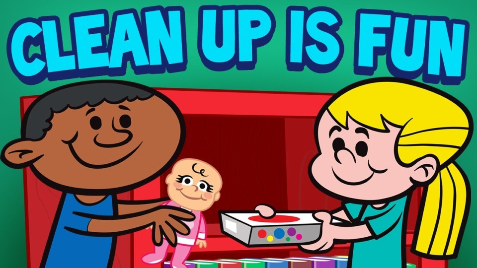 Clean Up is Fun – Children's Cleaning Song – Kids Songs by The Learning Station