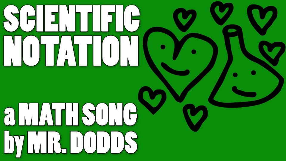 Colin Dodds – Scientific Notation (Math Song)