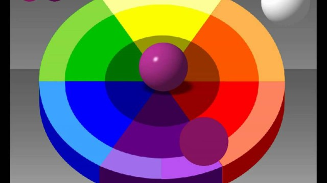 Color wheel chart mixing theory painting tutorial