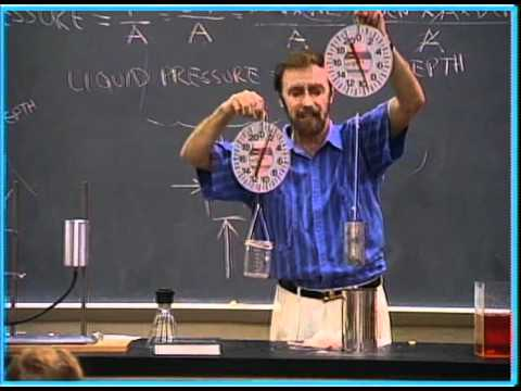 Conceptual Physics: Demo of Archimedes' principle