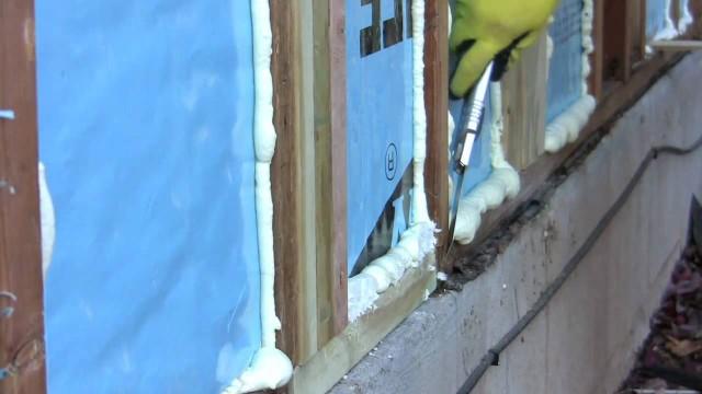 DIY Spray Foam Insulation – Poor Man's Spray Foam