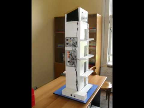 Elevator Model ( school project ) UPT
