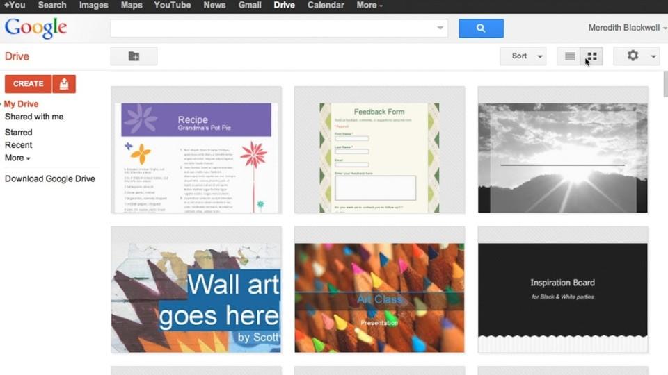 Exploring Google Drive
