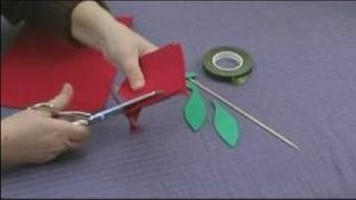 Foam Flower Crafts for Kids : Making Rose Petals for Kids' Crafts