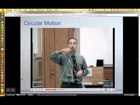 Force and Motion Goal 1