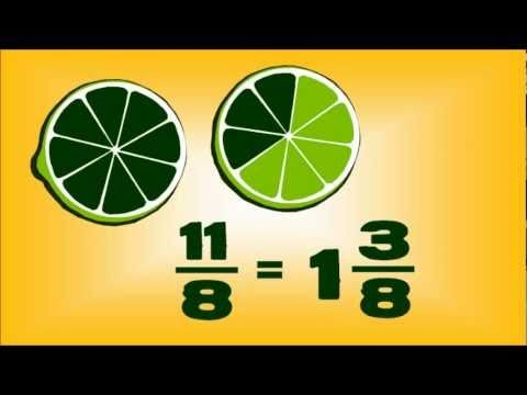 Fruit Fractions — animated maths lesson