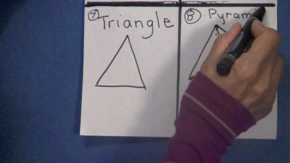 FUN Drawing Geometric SHAPES Kindergarten, 1st, 2nd, & 3rd Grade Kids – TEACHER GIFT