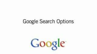 Google Search Options