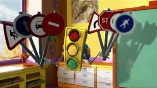 GreenLight – Traffic Police – cartoon for kids, educational videos safety road