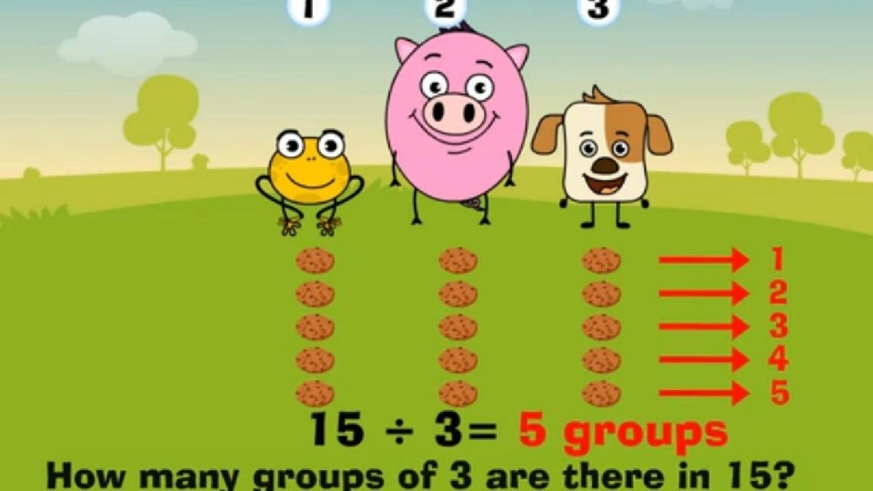How to Divide – Maths for Kids