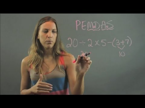 How to Evaluate Expressions According to the Order of Operations in 6th Grade … : Elementary Math
