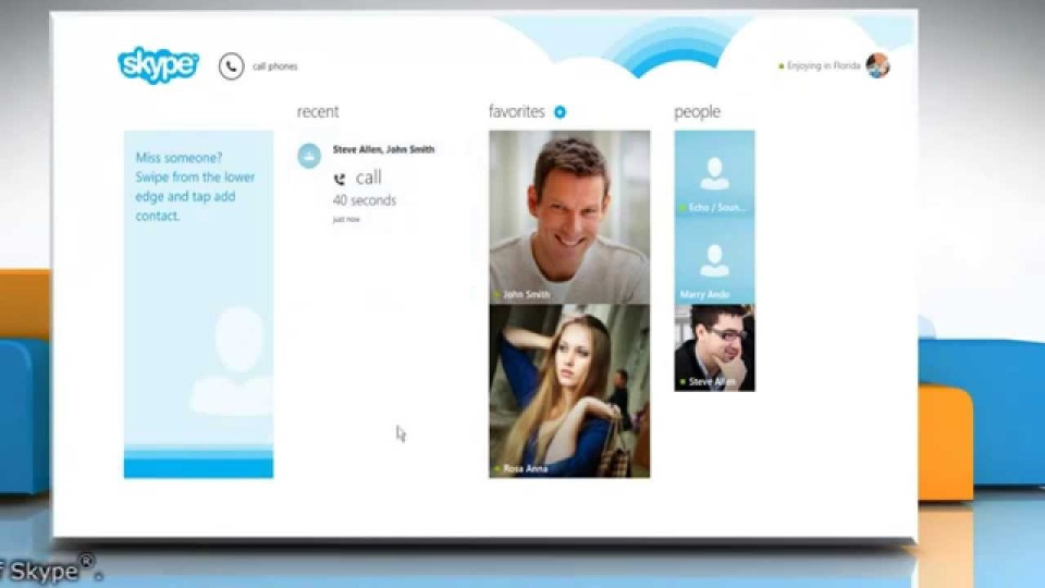 How to Make a Conference Call in Skype® for Windows® 8