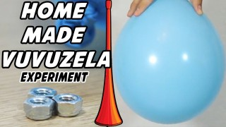 How to Make a HomeMade Vuvuzela | Vuvuzela Sound & HomeMade Vuvuzela Science Experiment