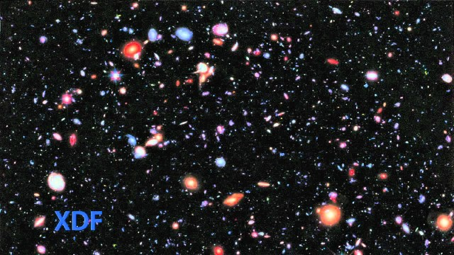 Hubble Extreme Deep Field Pushes Back Frontiers of Time and Space