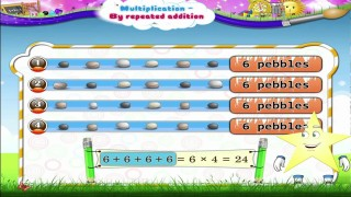 Learn Grade 2 – Maths – Multiplication by Repeated Addition