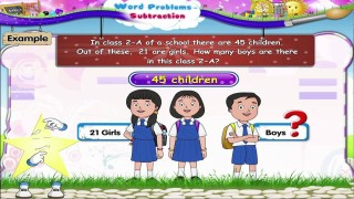 Learn Grade 2 – Maths – Word Problems Subtraction