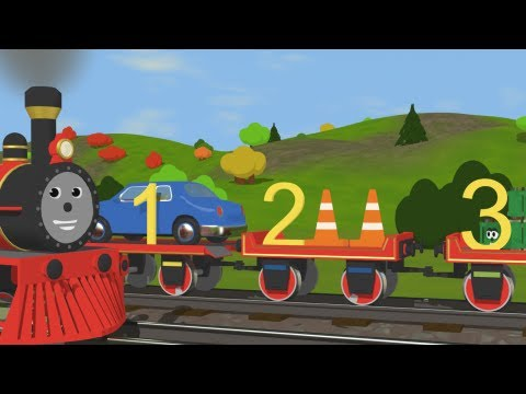 Learn to Count with Shawn the Train – Fun and Educational Cartoon for Kids
