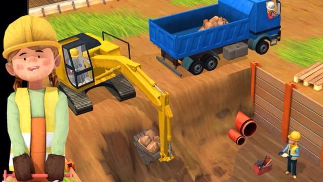 Little Builders App – Trucks, Cranes & Diggers | Top Best Apps For Kids
