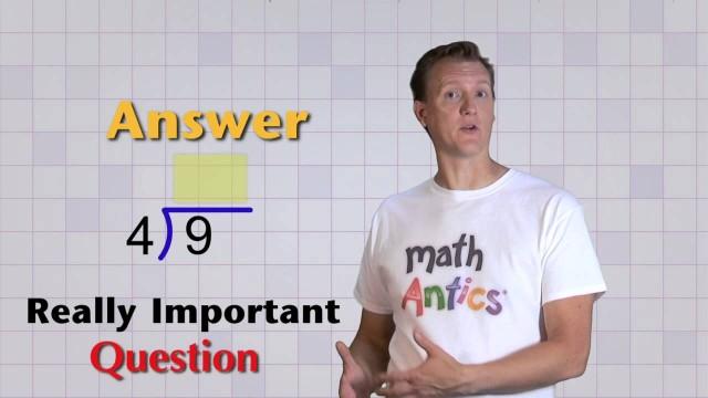 Math Antics – Basic Division
