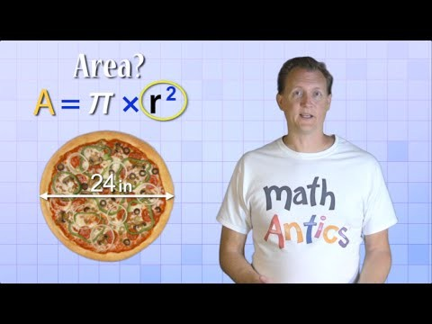 Math Antics – Circles, Circumference And Area