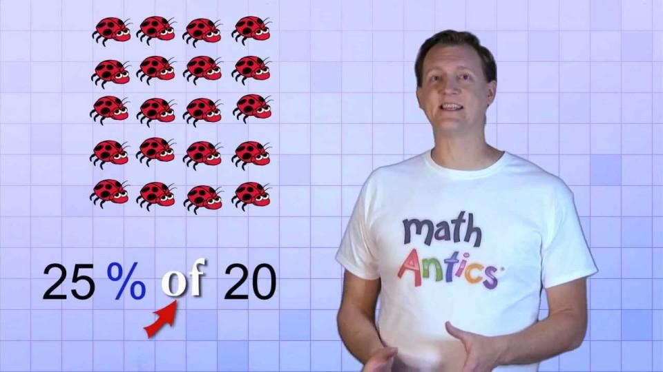 Math Antics – Finding A Percent Of A Number
