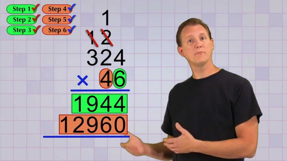 Math Antics – Multi-Digit Multiplication Pt 2