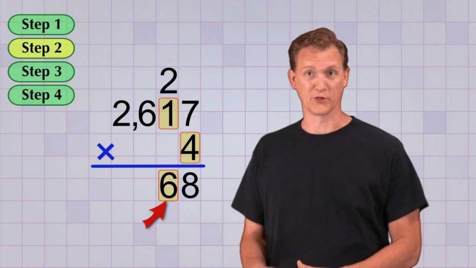 Math Antics – Multi-Digit Multiplication Pt 1