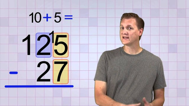 Math Antics – Multi-Digit Subtraction