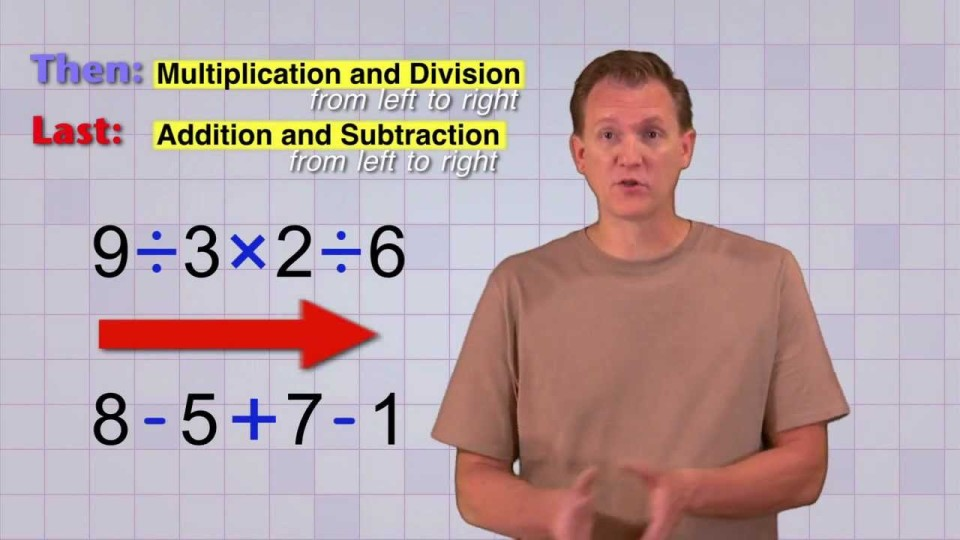 Math Antics – Order Of Operations