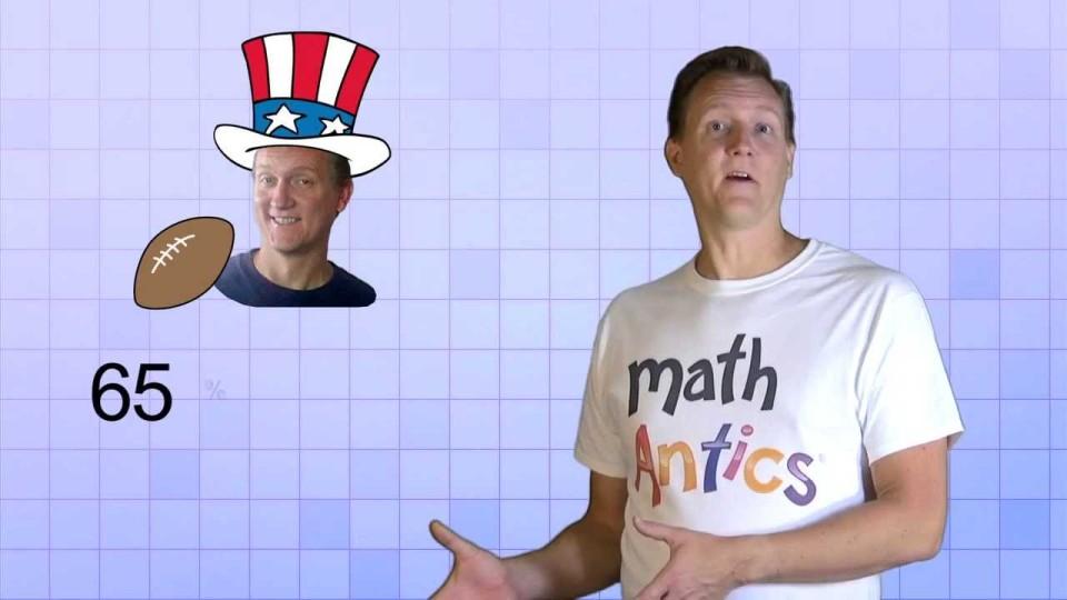 Math Antics – Percents And Equivalent Fractions