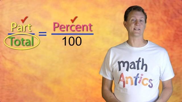 Math Antics – Percents Missing Total