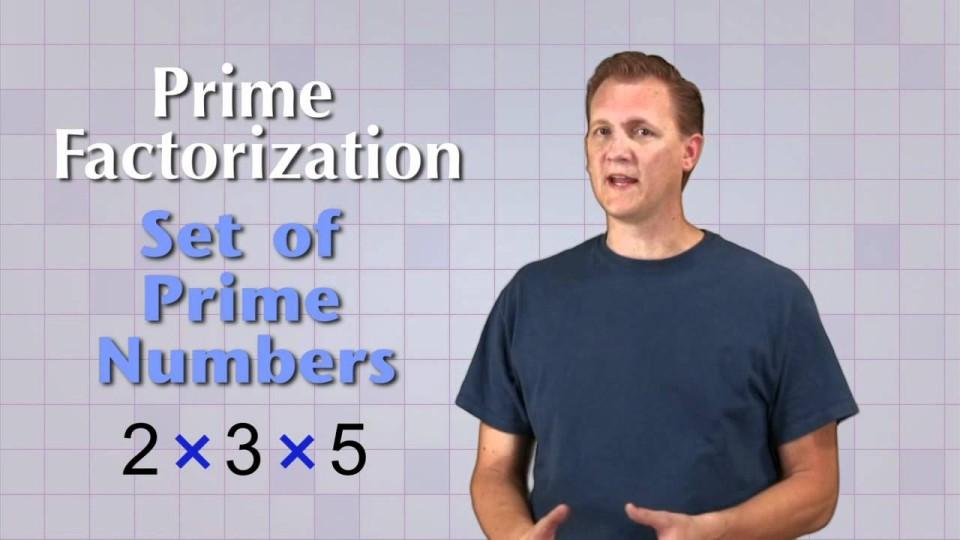 Math Antics – Prime Factorization