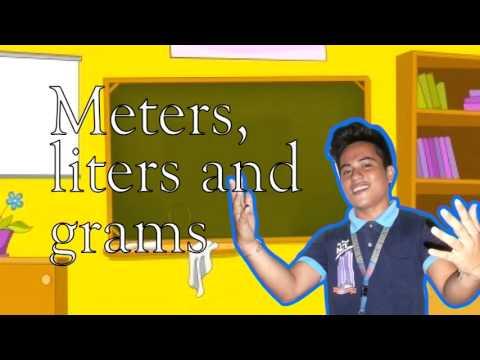 Meters, Liters and Grams Music Video