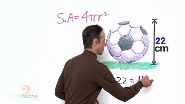 Surface Area Of A Sphere – VividMaths.com