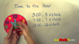Telling Time to the Hour – 2nd Grade Math Tutorial