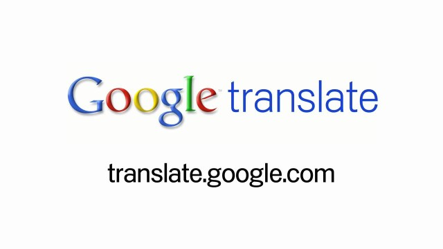 Text Translation on Google Translate