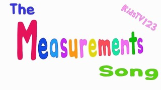 The Measurements Song
