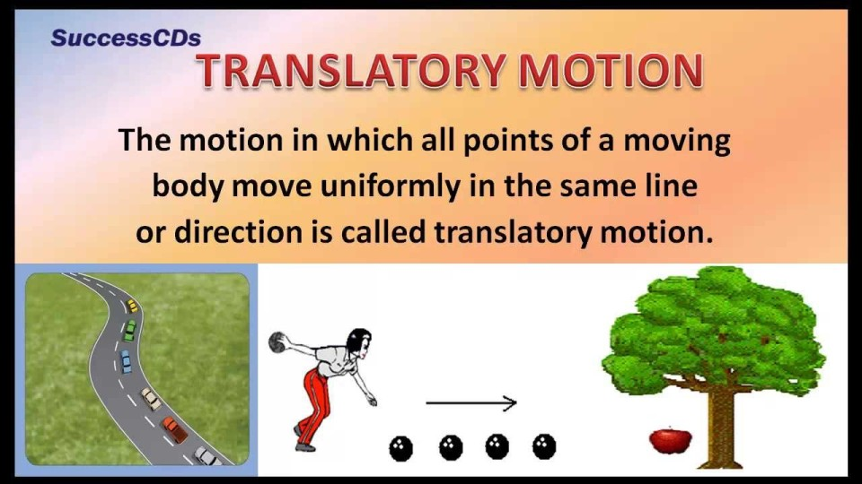 Types of Motion – CBSE NCERT Science