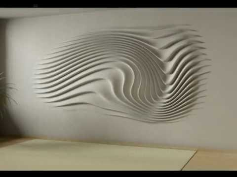 wall relief decoration – interior design