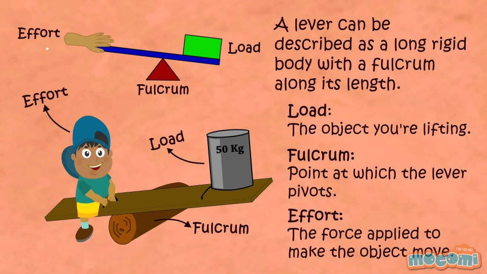 What is a Lever? Simple Machines | Mocomi Kids