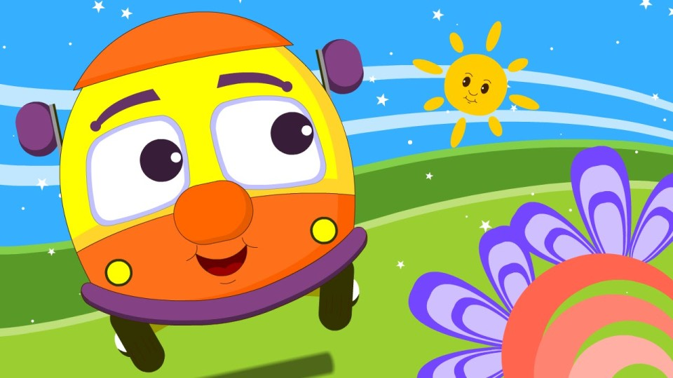 Wheels On The Bus | Nursery Rhymes | NEW VIDEO | HD Version