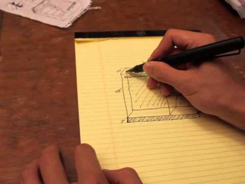 Woodworking Project Sketch – Wardrobe Unit