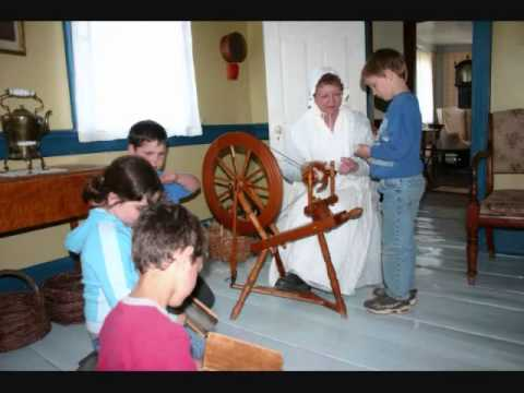 Wool Processing Hands-on @ Ross Farm Museum