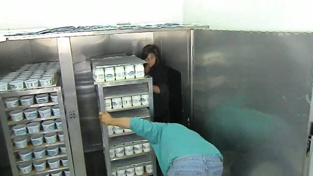 Yoghurt production