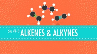 Alkenes & Alkynes – Crash Course Chemistry #41